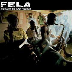 "Fela Kuti  ""Black President"" Album Cover"