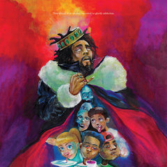 "jcole ""KOD"" album cover"