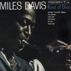 "Miles Davis ""Kind of Blue"" Album Cover"