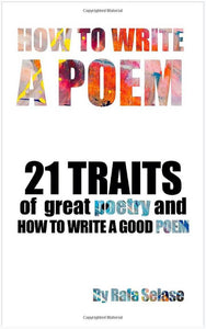 "Book Cover for ""How To Write a Poem"""
