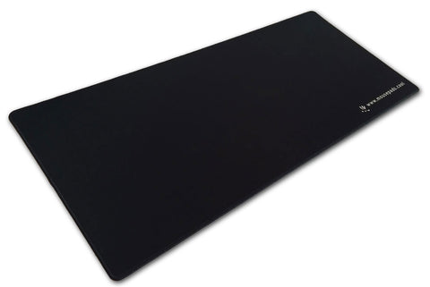 3 Foot Solid Black Pad-Zilla® Gamer Series - (Smooth Surface + Sewn Edges)