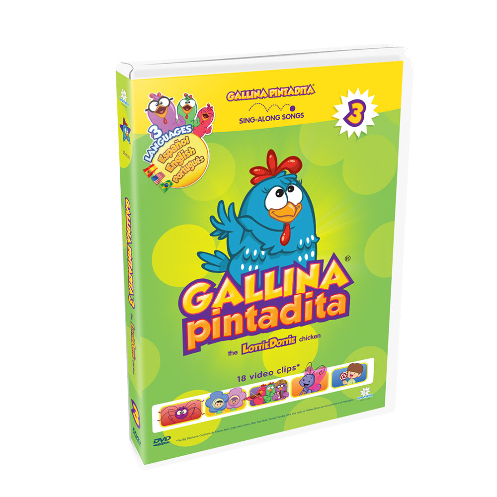 Lottie Dottie Chicken DVD Vol. 3 Multi-language