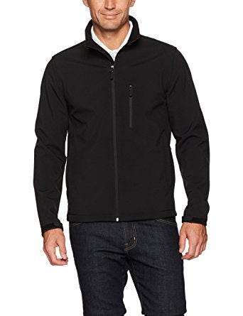 Lightweight, Essentials Men's Water-Resistant Softshell Jacket