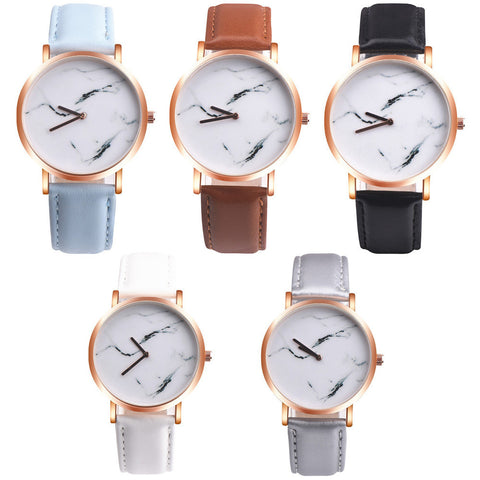 Marble Watches - Leather Band