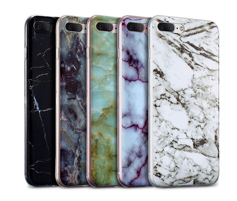 Deluxe Marble iPhone Cases