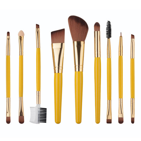 80's Style Brush Set (9PCS)