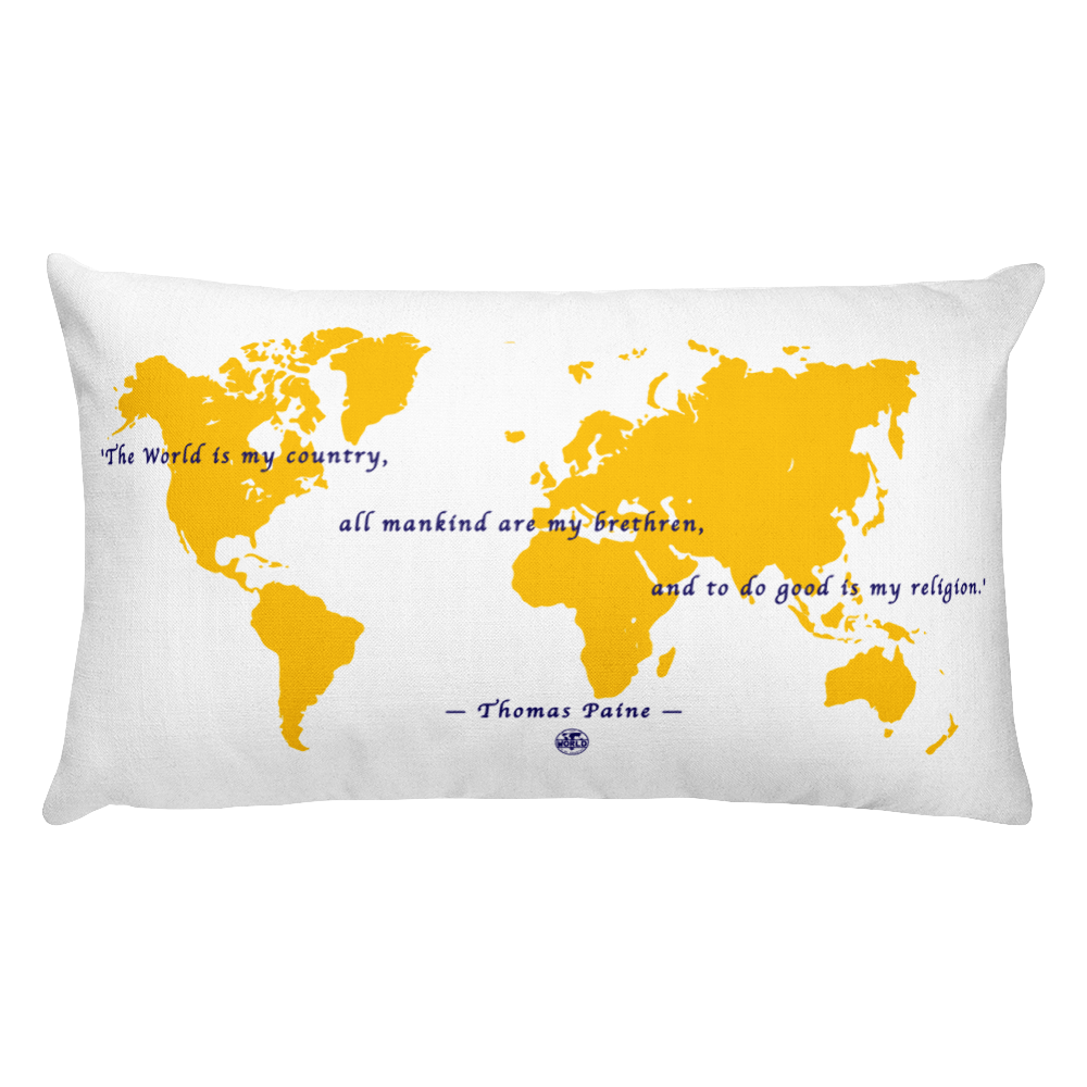 'The Thomas Paine' Rectangular Pillow