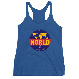 'The Traveler' Women's Racerback Tank