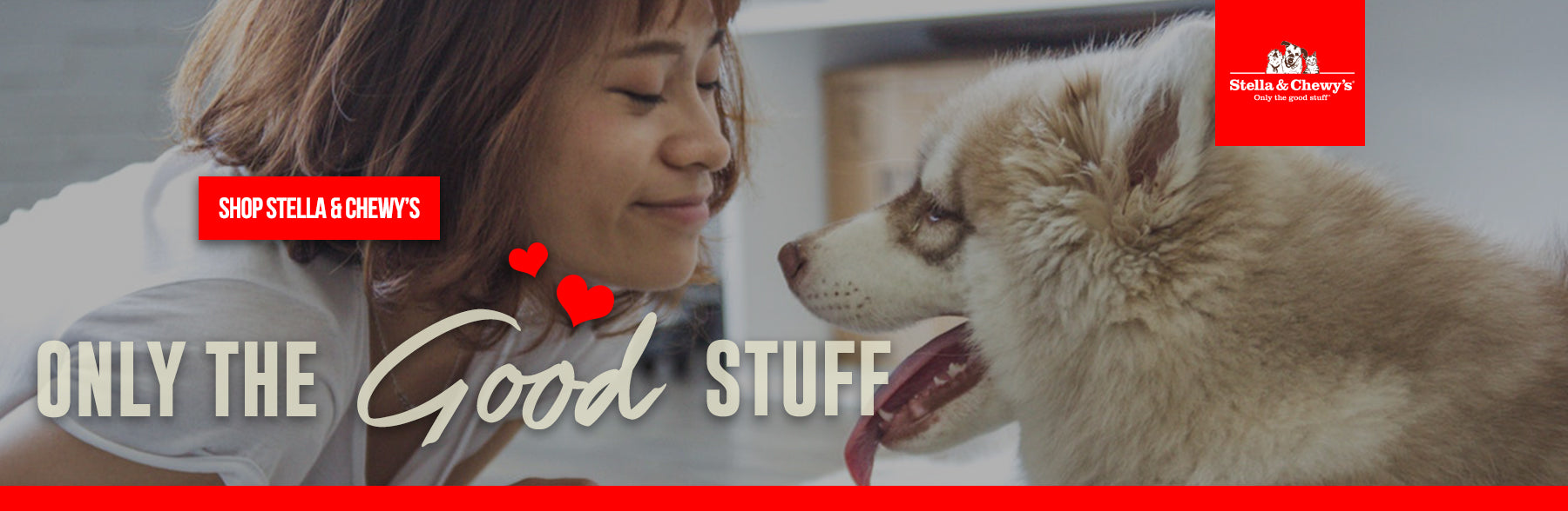 Stella and Chewy banner