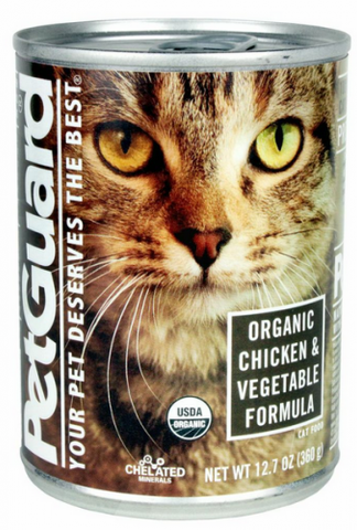 Petguard Organic Chicken & Vegetable Entree Canned Cat Food