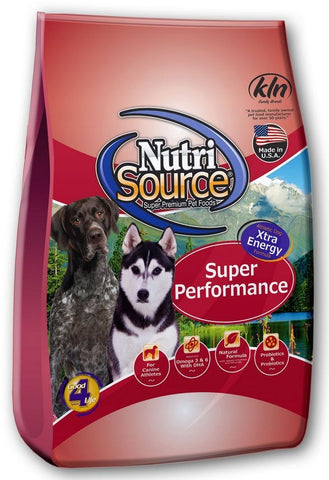 NutriSource Super Performance Chicken & Rice Dry Dog Food