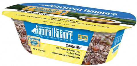Natural Balance Delectable Delights Grain Free Catatouille Wet Cat Food