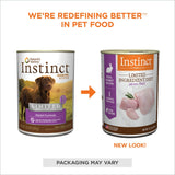 Nature's Variety Instinct Grain Free LID Rabbit Canned Dog Food