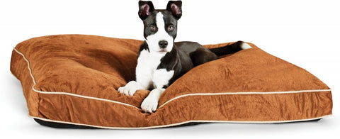 K&H Pet Products Tufted Pillow Top Chocolate Pet Bed