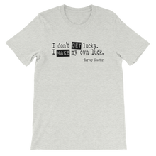 Harvey Specter Quotes I Make My Own Luck T-Shirt (Ash)