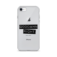 Harvey Specter Quotes Goddamn Right iPhone 7/8 Case