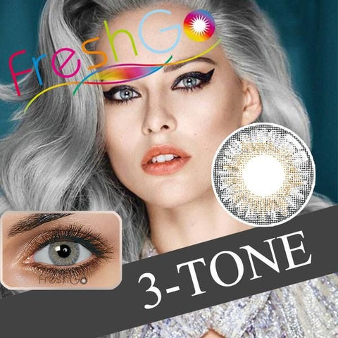3-Tone Soft Color Contact Lens