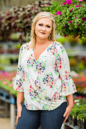 Finding A Way Floral Top - West Avenue