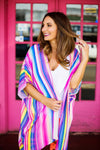 The Sherbet Kimono - Purple/Blue - West Avenue