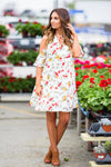 Heart Wont Lie Floral Dress - West Avenue