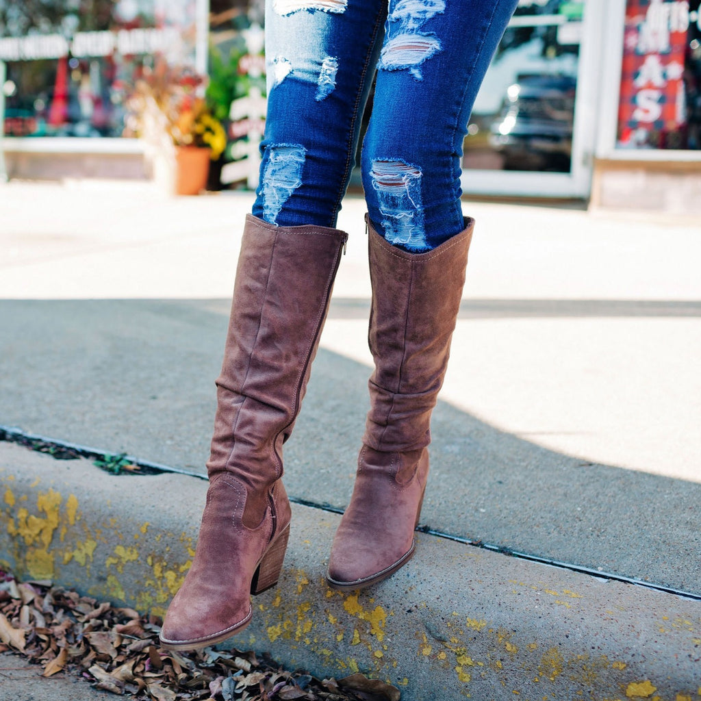 The Penny Taupe Boot