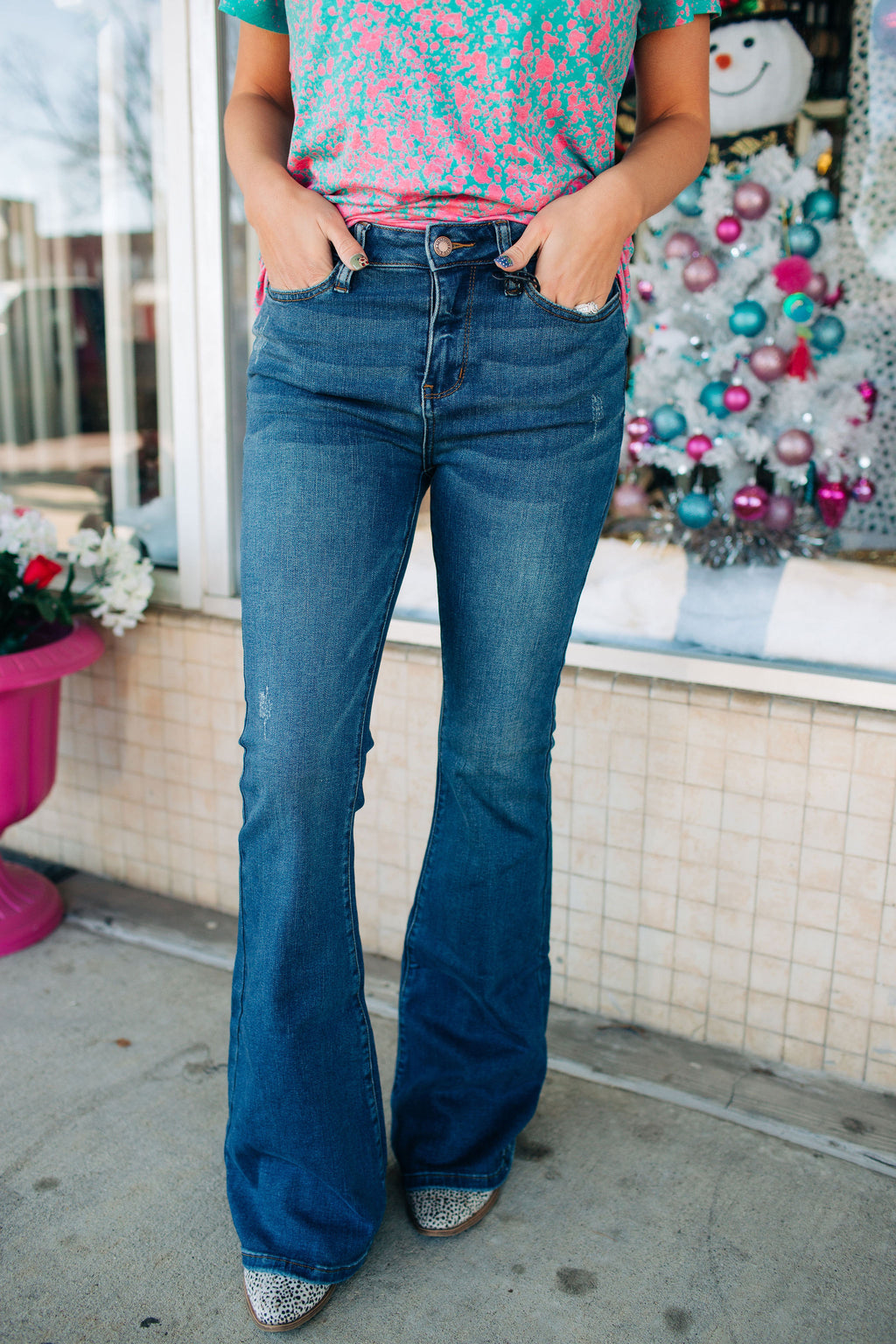 Judy Blue High Rise Boot Cut Flares