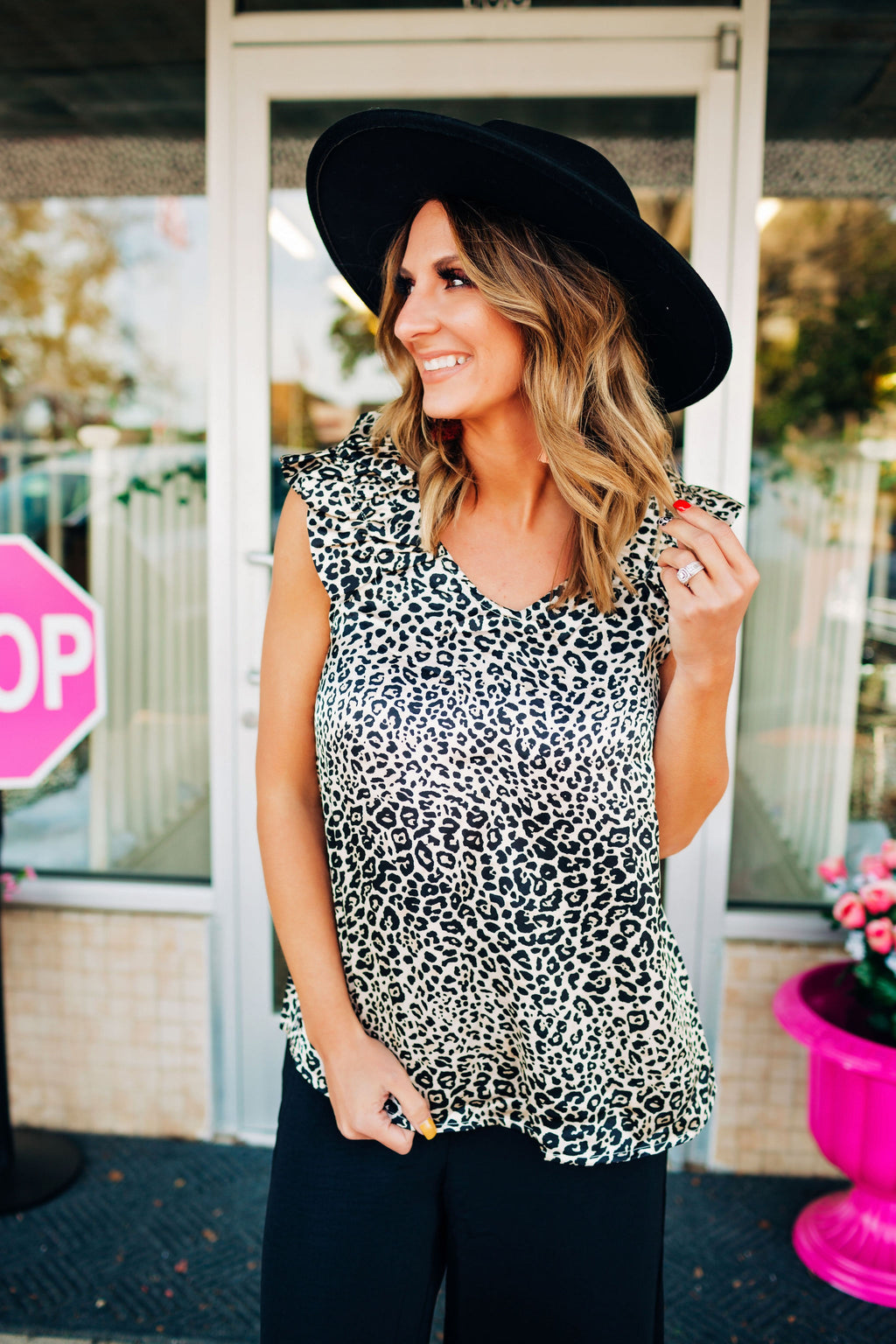 Girl Crush Leopard Top