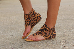 Leopard Bliss Sandal - West Avenue