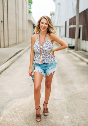 All The Fringe Bodysuit - West Avenue