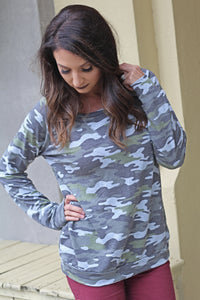 Now You See Me Camo Top - West Avenue