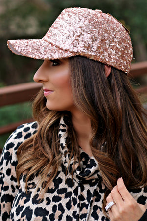 The Jazzy Hat - Rose Gold - West Avenue