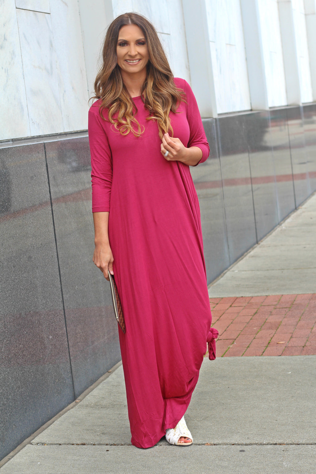 Eyes On The Prize Maxi Dress - West Avenue