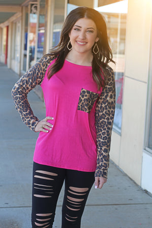 Fun In Fuchsia Top - West Avenue