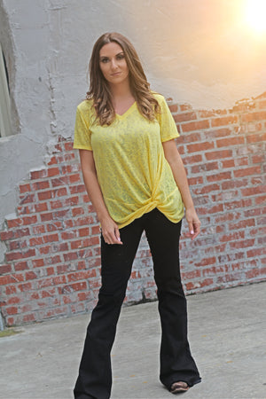Mellow Yellow Top - West Avenue