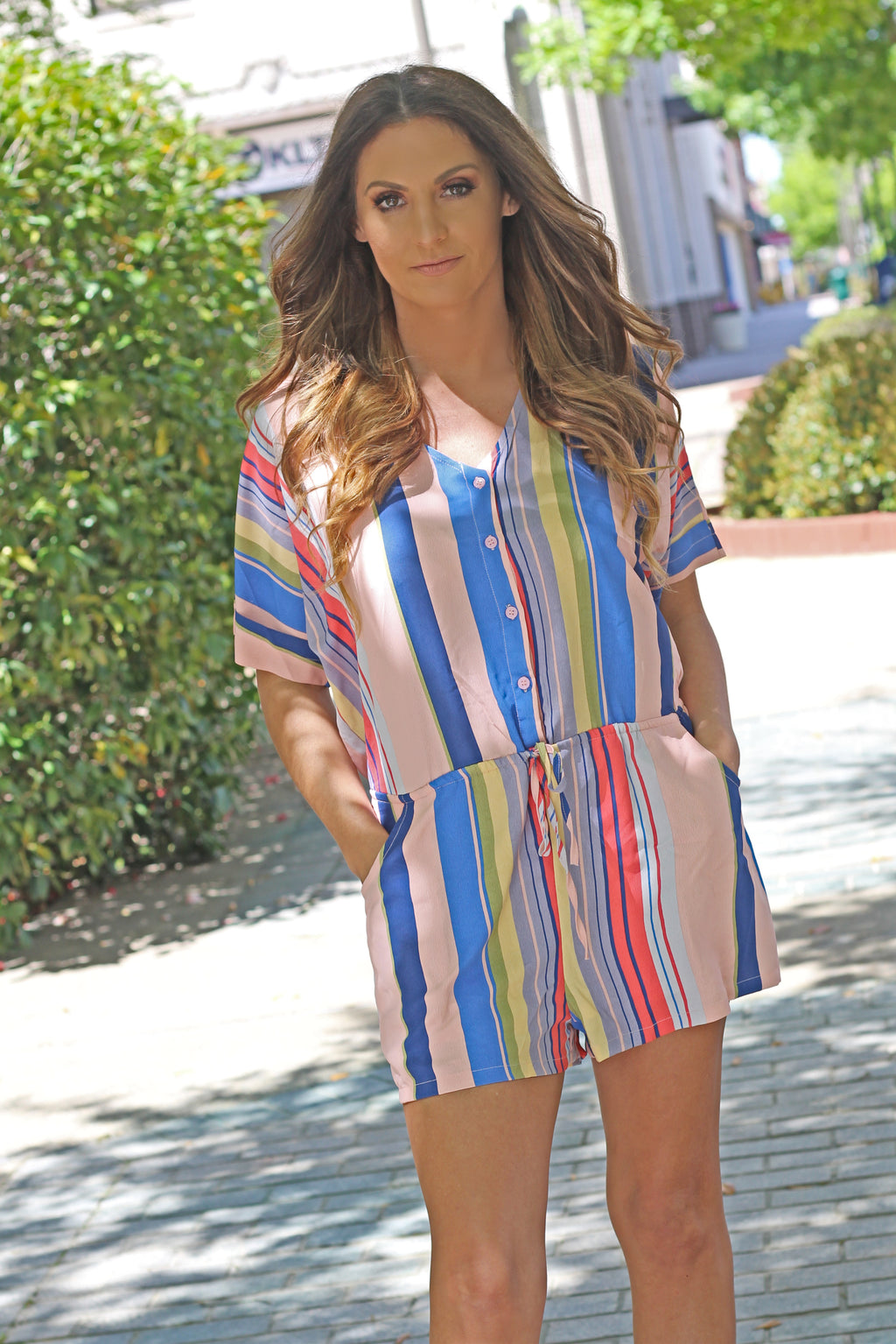 The Candyland Romper - West Avenue