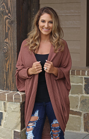 Make Me Want To Slouchy Cardigan - West Avenue