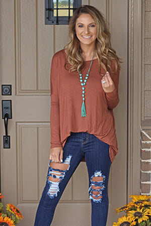 What She Wants Tunic Top - West Avenue