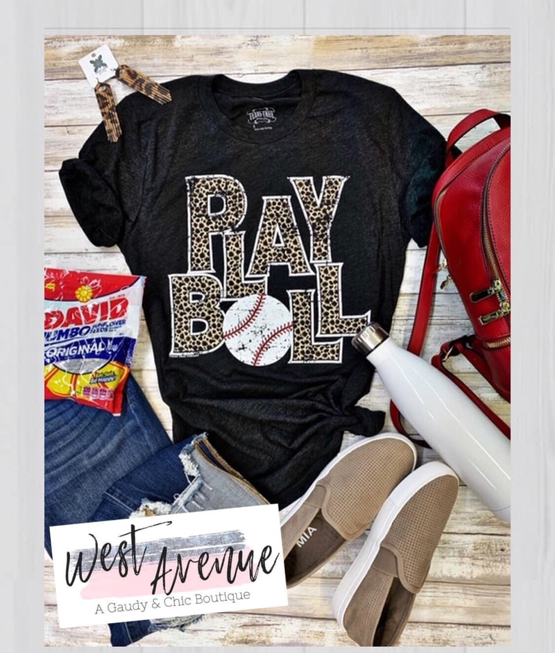 Play Ball Baseball Tee