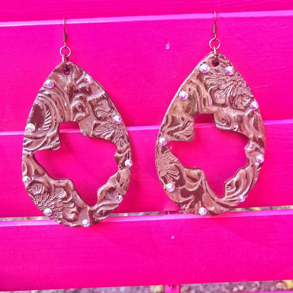 Cactus & Lace Earrings - West Avenue