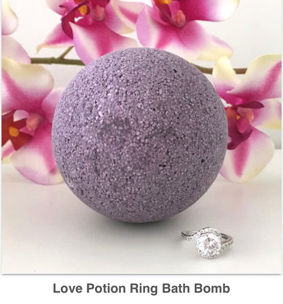 Love Potion Ring Bath Bomb - West Avenue