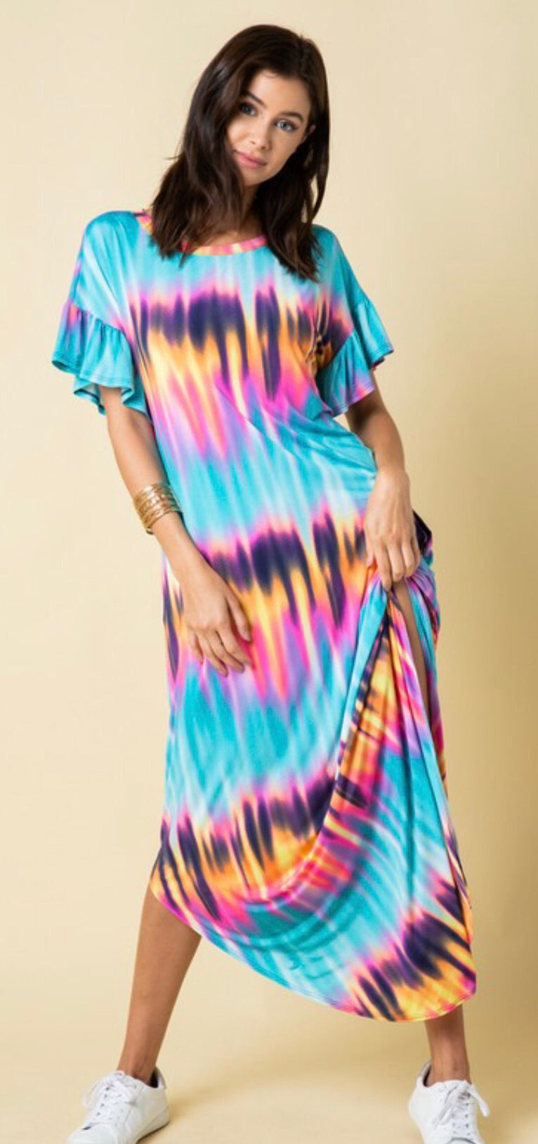 Neon Pink Vacay Dress - West Avenue