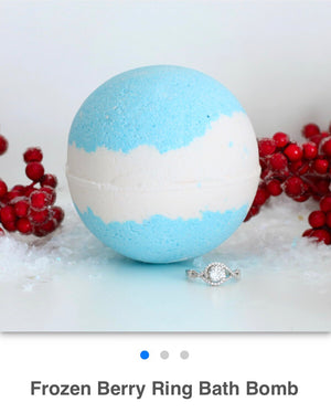 Frozen Berry Ring Bath Bomb - West Avenue