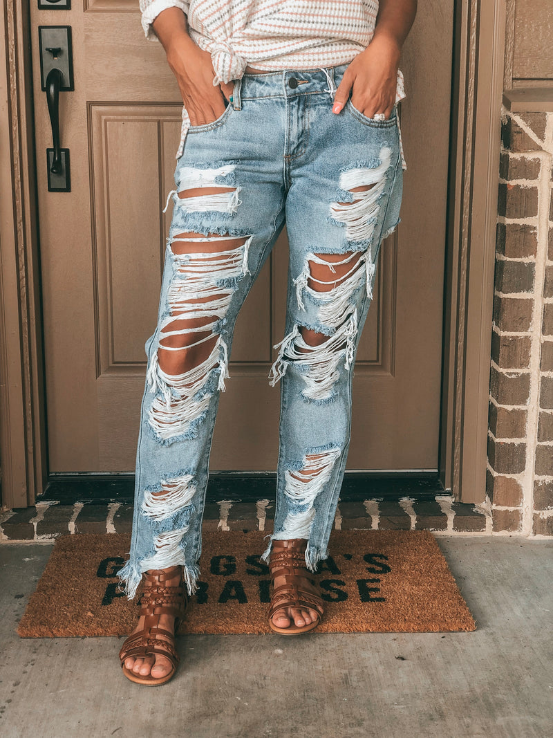 The Bethany Light Wash Jeans