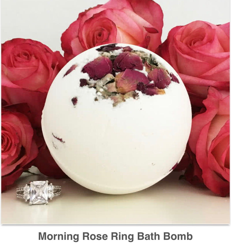 Morning Rose Ring Bath Bomb - West Avenue