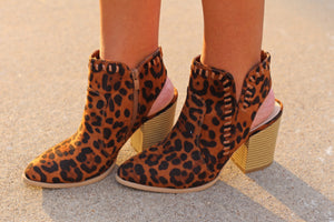 The Ashley Booties - Leopard - West Avenue