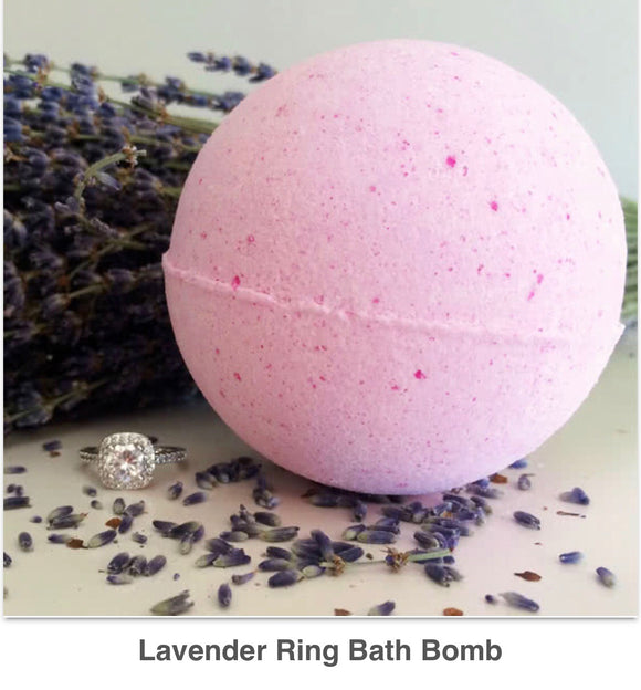 Lavender Ring Bath Bomb - West Avenue