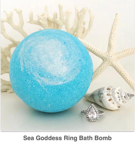 Sea Goddess Ring Bath Bomb - West Avenue