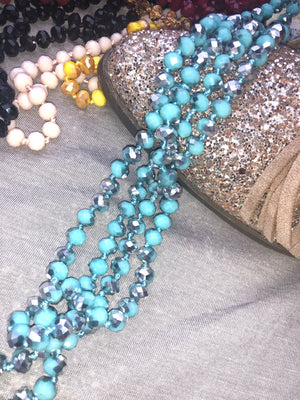 Glass Beaded Necklace - West Avenue