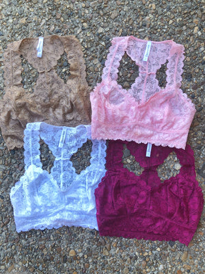 Lace Bralettes - West Avenue
