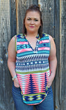 The Aztec Tank { Plus Size } - West Avenue